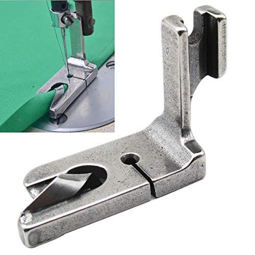 """CKPSMS Marca - # 120807 Máquina de coser industrial RODILLO DE 5/16\""""(8 MM) Pie de dobladillo apto para Brother JUKI CONSEW (1 piezas)"""
