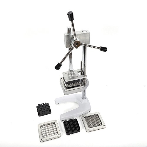 TimmyHouse Chips Cutter Slicer Vertical Manual French Fries Machine Carrot Cucumber Potato