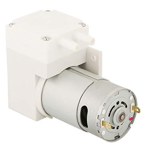 Mini Vakuumpumpe,Luft 50W Mini Vacuum Pump DC12V Mini Vakuumpumpe Unterdruck Saugpumpe für Medizin, Labor, Nahrungsmittelfabrik usw,70L / min Vakuumpumpe -50 kPa