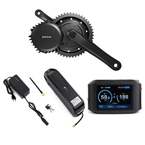 Bafang BBSHD 1000W Mid Drive Electric Bike Motor Ebike Conversion Kits LCD Display With Lithium Battery