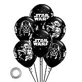 CYSJ Star Wars Party Supplies 36pcs Star Wars Tema Cumpleaños Party Globos Fiesta de cumpleaños Suministros Globo Decoración para niños Baby Shower Fiesta Decoración