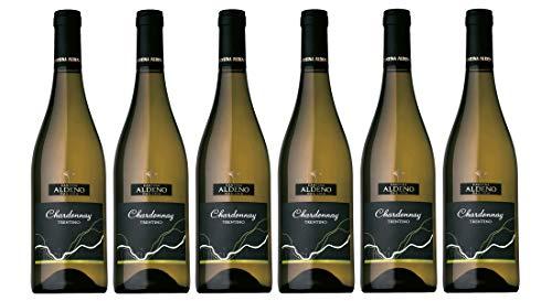 Confezione 6 bottiglie Chardonnay Doc | Vino Bianco Trentino DOC | Cantina Aldeno - Athesim Flumen