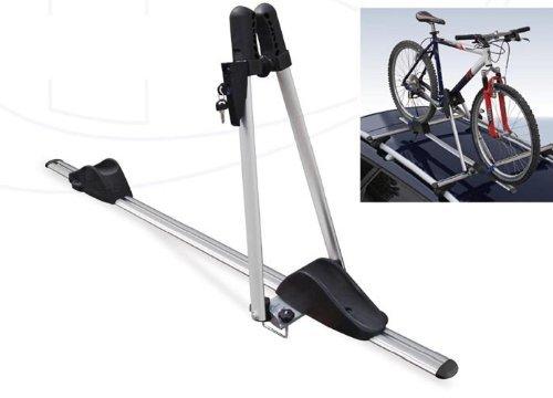 Menabo Baca para transportar bicicletas con cierre, hecha de aluminio Asso