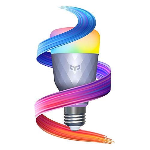 YLDP001 Smart Color Light Bulb 1SE (COLOR) E27 650lm AC 110V-240V 1700K-6500K, APP control, support Google & Alexa