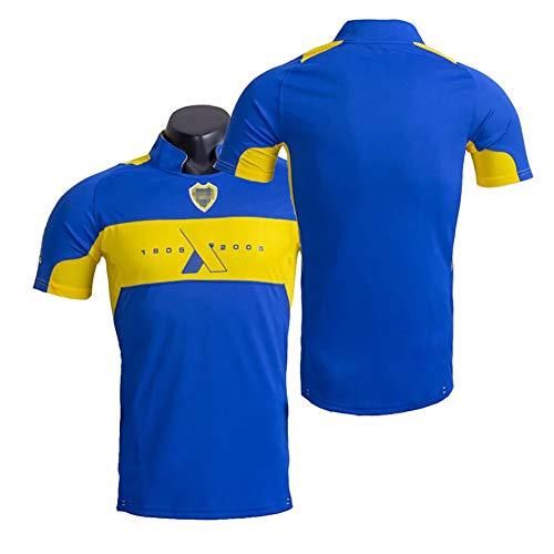 Retro-Fußballuniform zum 100-jährigen Jubiläum, Fußball-T-Shirt Frühjahr 2005, altmodisches Fußballtrikot, S-2XL-M