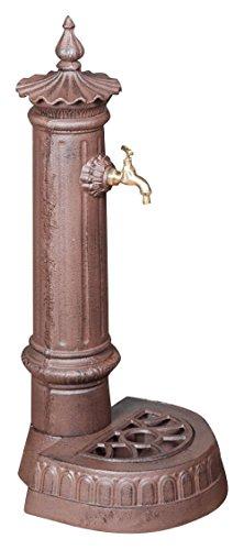 Biscottini Fontana in ghisa Finitura ruggine Anticata L37xPR33xH78,5 cm