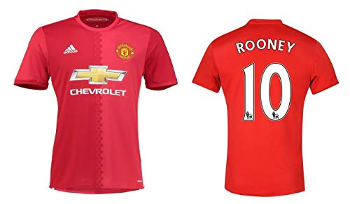 Manchester United Trikot Herren 2016-2017 Home - Rooney 10 (XL)