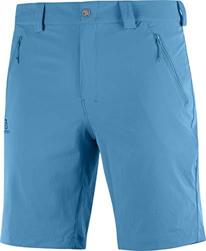 Salomon Herren Shorts, WAYFARER LT SHORT, Polyamid/Elasthan, azul (fjord blue), Größe: 52/R, LC1300200