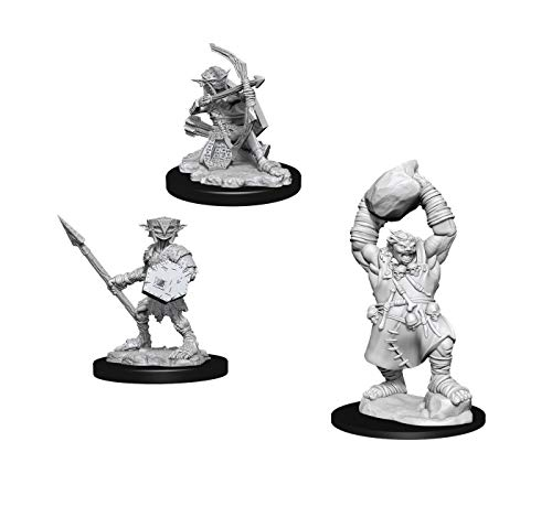 Pathfinder Battles Deep Cuts Miniatures Bundle: Ogre W11 + Hobgoblin W11