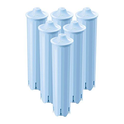 JURA Claris 71311 Blue Filterpatrone, 6er Pack (6 Filterpatronen)