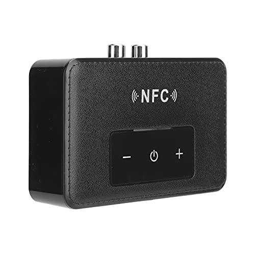 Adaptador Bluetooth de 3,5 mm Transmisor Receptor Auriculares de Audio Adaptador Bluetooth 5.0 para automóvil, Negro