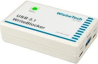 CRU 31350-1976-0000 USB 3.1 Writeblocker; Read-Only Access to 3 USB 3.1/3.0/2.0 Storage Devices At T