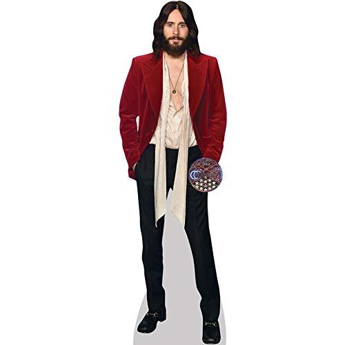 Celebrity Cutouts Jared Leto (Red Blazer) Pappaufsteller lebensgross