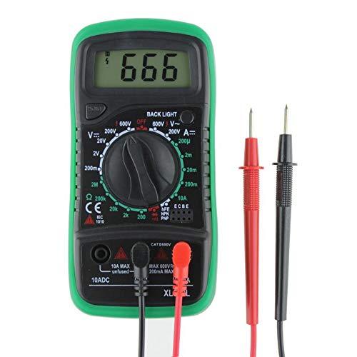 Best Quality Xl830l Digital Multimeter Voltmeter Ammeter Ohm Volt Tester Lcd Test, Electric Digital Multimeter - Tester Meter, Clamp On Ammeter, Voltmeter Ammeter, Digital Multimeter Usb