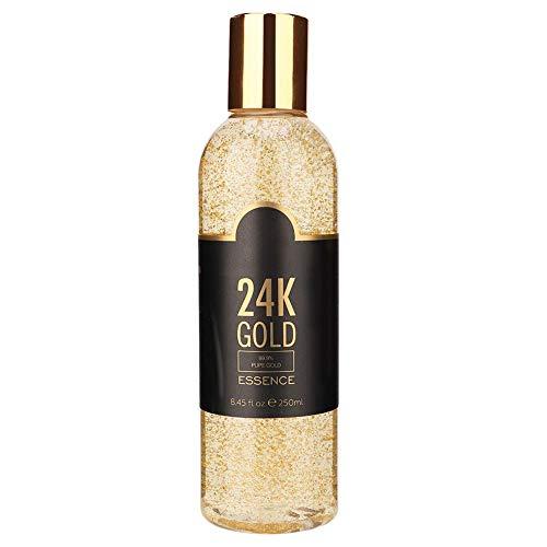 Suero de ácido hialurónico - Esencia blanqueadora abrillantadora de oro 24k, para hidratación hidratante, reparación rejuvenecedora, efectiva crema hidratante antiarrugas, aclara las manchas