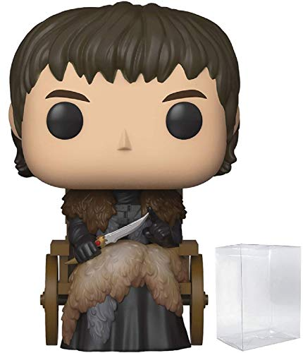 Funko Pop! Game of Thrones: Bran Stark Figura de vinilo (incluye funda protectora para caja de pop)