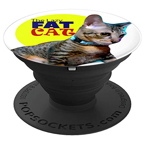 The Fat Cat PopSockets Grip and Stand for Phones and Tablets