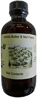 OliveNation Vanilla Butter & Nut Natural Flavor, 4 Ounce