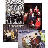 【公式ポスター】ONEUS (ワンアース) - 5thミニアルバム 「BINARY CODE」 ポスターセット(4枚セット)[ポスター専用ケース] 40cm x 61cm Kstargate限定