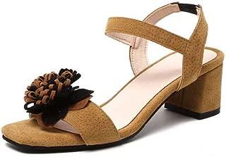 BalaMasa Womens ASL06937 Pu Block Heels