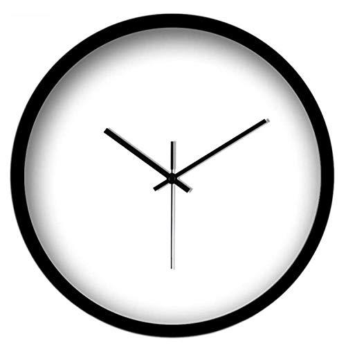 Reloj de Pared Reloj de Pared Silent14 Pulgadas (35 cm) Cocina Moderna silenciosa del Reloj de Pared del Reloj de Pared sin ningún Sonido sibilante