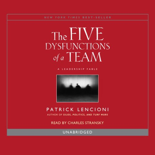 The Five Dysfunctions of a Team audiobook cover art