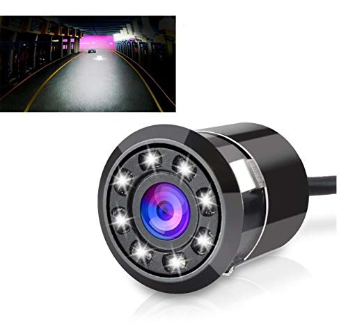 CarEmpire Car Rear View Reverse Parking Camera with HD Night Vision (8 LED), Waterproof, 170 Degree Wide Angle- T-92