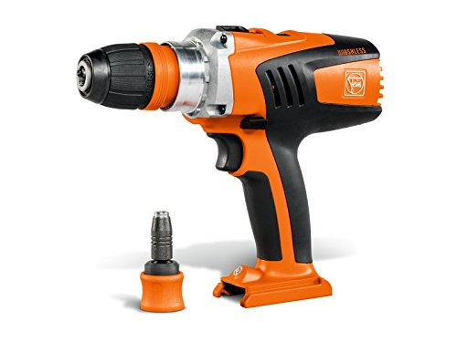 Fein ASCM 18QX 4 Speed Cordless Drill with Quick Change Chuck Body, 18 V, Orange