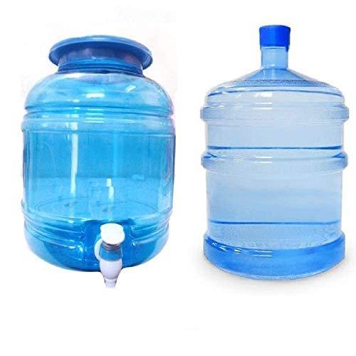 KTC Plus Transparent Plastic Water Dispenser 10 Litre & Water Dispenser Bottle 20Litre