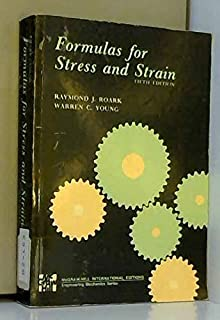 Formulas for stress and strain.