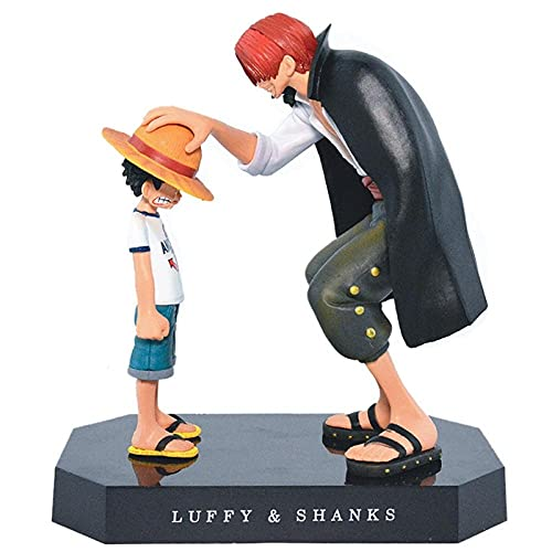 Anime Character Model Collectibles 17Cm Anime One Piece Four Emperors Shanks Straw Hat Luffy Pvc Action Figure Going Merry Doll Collectible Model Toy Figurineanime Fans Best Gift Pvc Nendoroid Ac