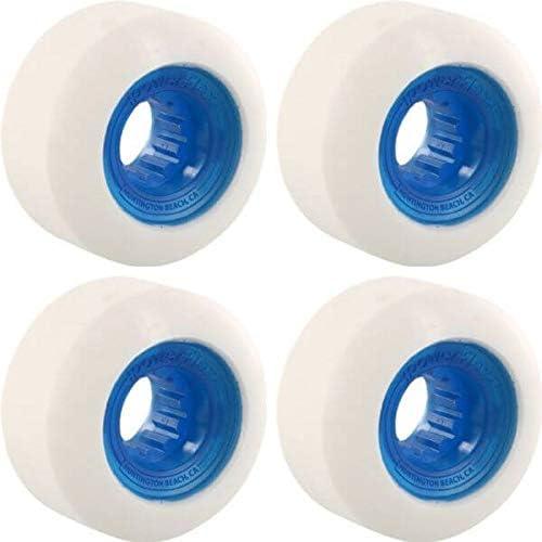 Powerflex Rock Candy 56mm Long Popular Beach Mall 84b CLR.Blue Set WHT Wheels