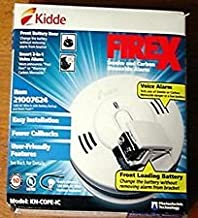 Kidde KN-COPE-IC Smoke and Carbon Monoxide Alarm 120V AC Wire w/ Front Loading Battery Back Up LOT of 2