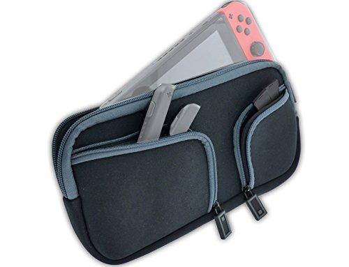 Subsonic - AntiShock Tasche Transport für Nintendo Switch Konsole und Zubehör - Advanced soft case