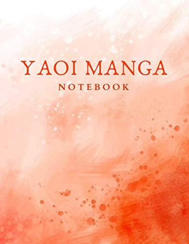 """YAOI MANGA NOTEBOOK: 85x11"""" Cornell Style Diary Journal"""