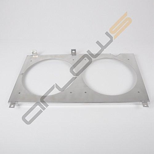 Aluminium Ventilateur Tôle Honda S2000 00–05 (Support/fixation pour spal)