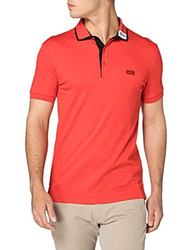 BOSS Paule 1 10210510 01 Camisa de Polo, Talla Mediana Red618, L para Hombre
