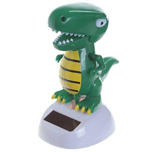 Flip Flap Decorazione ad Energia Solare Dinosauro T Rex