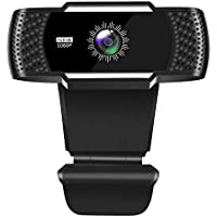 Facamword 1080P Webcam with Microphone