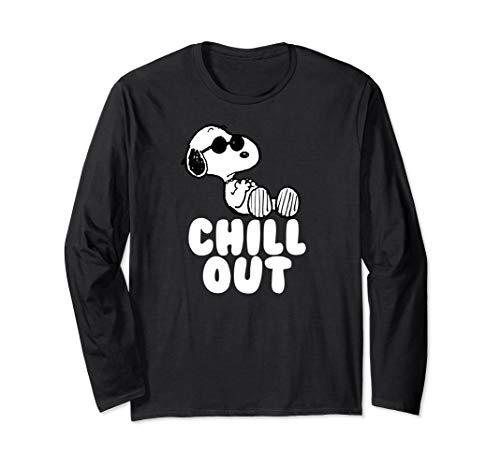 Peanuts Beruhige dich Snoopy Langarmshirt