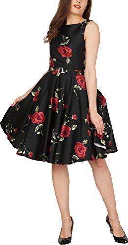 'Audrey' Vintage Infinity Kleid im 50er-Jahre-Stil - 4
