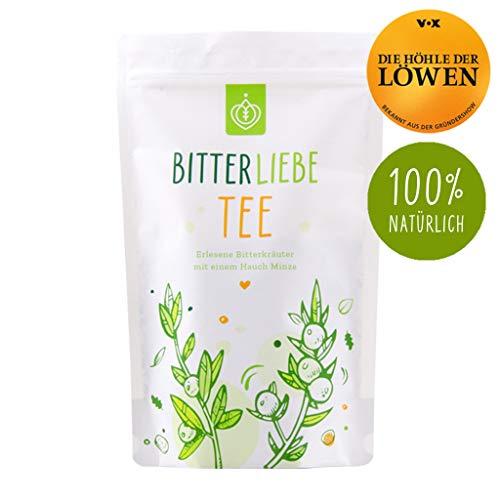 BitterLiebe Tee mit leckeren Bitterkräutern (ca. 60 Tassen) Loser Kräutertee Mischung inspiriert durch Hildegard von Bingen