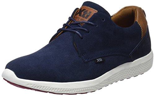 XTI 47173, Zapatos de Cordones Derby Hombre, Azul (Navy), 45 EU