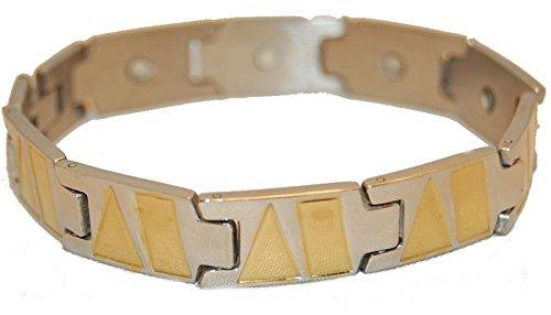 Magnetarmband Magnettherapie Edelstahl Jay Baxter 6111
