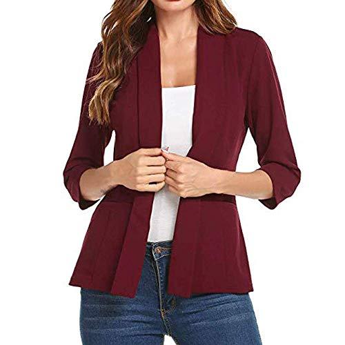 Dames Blazer Waisted Korte Slank Open Voor Elegante Moderne Casual Zakelijke Zakelijke Jas Pak Casual Korte Blazer Vest Jas