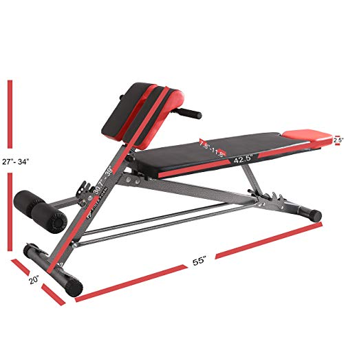 Finer Form Multi-Functional Weight Bench and Floor Mat