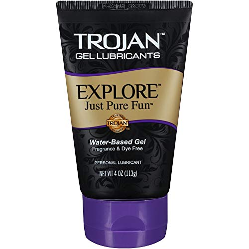 Trojan Explore Water-Based Personal Lubricant Gel - 4 oz