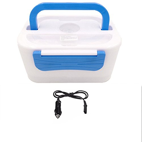 Kabalo Electric Electronic Heated Portable Compact FOOD WARMER Lunch Bento Box 12V Car Adapter
