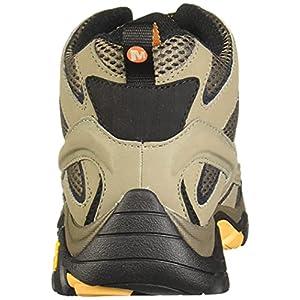 Merrell Men's Moab 2 Mid Gtx Hiking Boot, Walnut, 10.5 W US