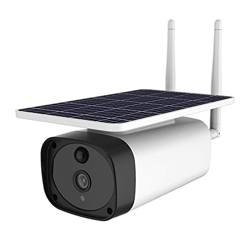 New Funiee 2019 New Outdoor Solar Powered Security Camera,2.4Ghz 4G Wireless Home Security Camera, M...